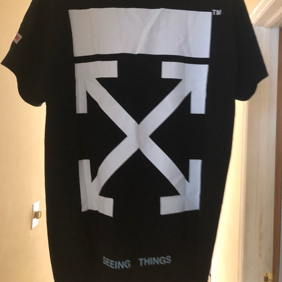 4a99e1bb Off-White Shirts | Offwhite Seeing Things Tee | Poshmark